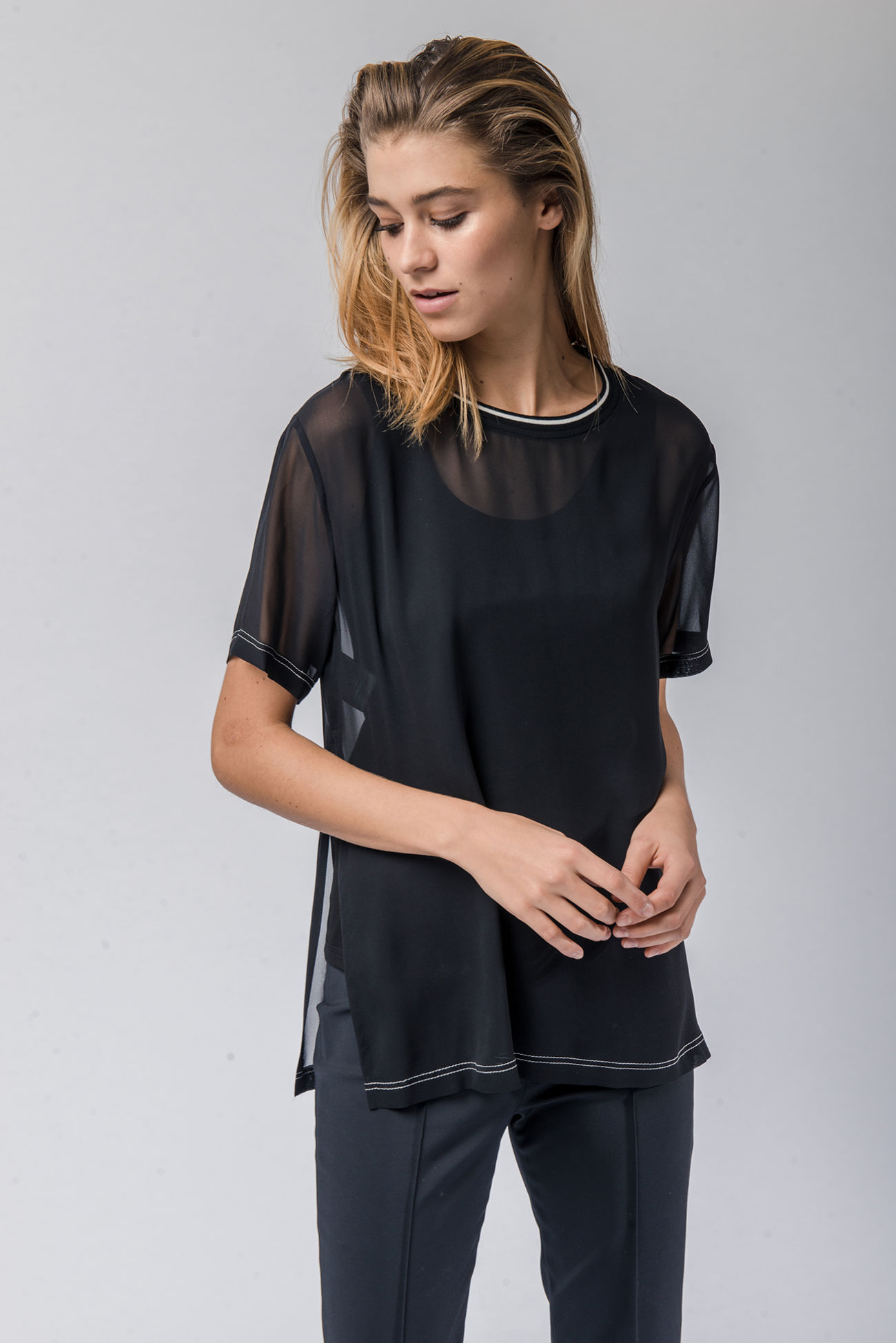 Double-Layer Shirt