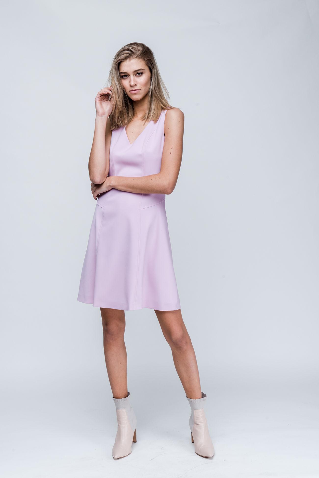 ee5142daa81 Kleid aus Grain de Poudre