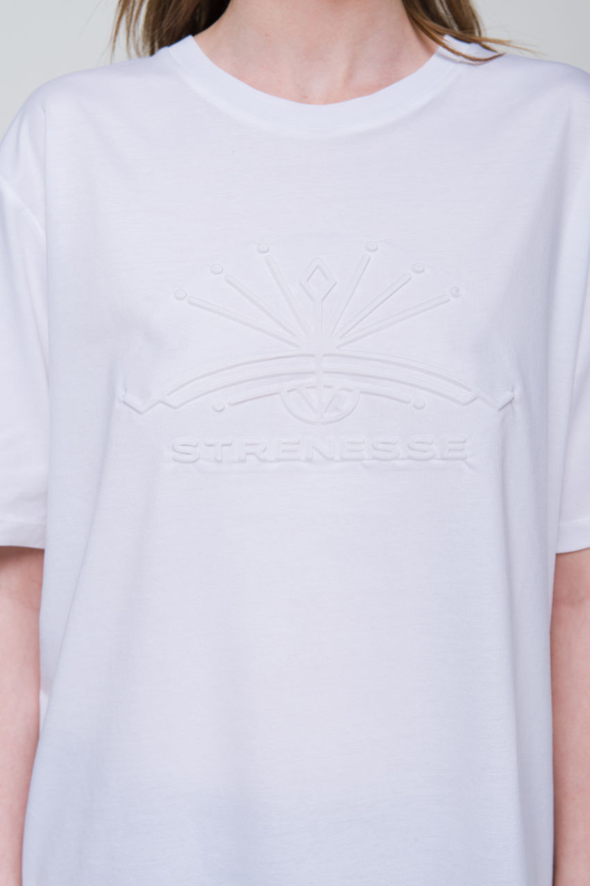 Shirt mit Prägung
