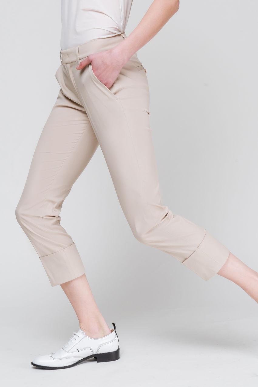 Popelin-Stretch-Hose