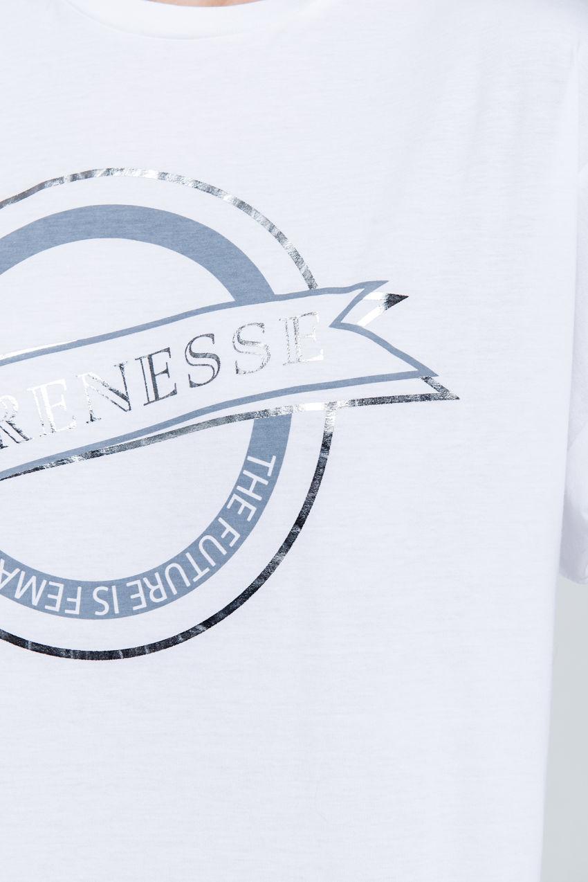 Logo Shirt aus Jersey