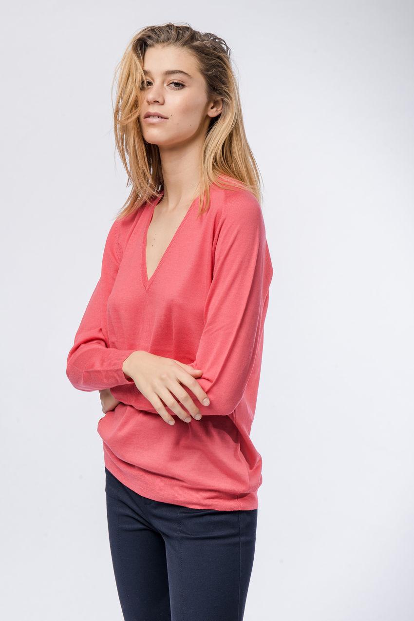 Wolle-Kaschmir-Pullover