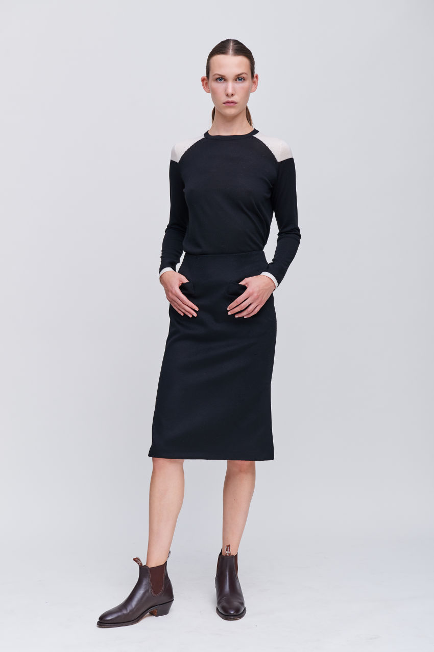 Femininer Businessrock
