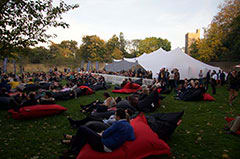 Rugby World Cup Final 2016 screened in Fulham Palace Gardens
