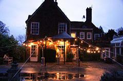 A garden party in Kent