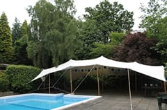 Stretch tents are a versatile and effective tool to bring your garden to life