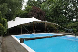 Stretch tents at private parties