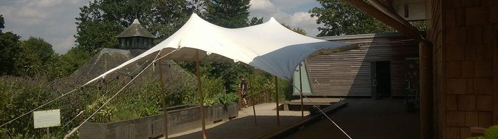 stretch tent gazebo