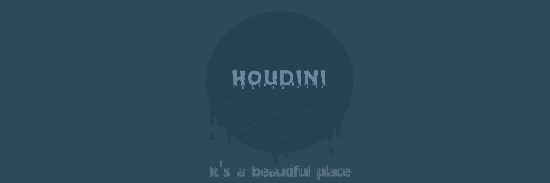 Houdini poster by Joseph Rex