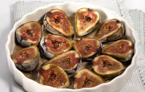 autumn baked figs