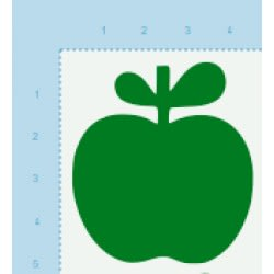 Æbler, grønne