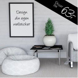 Design din egen wallsticker
