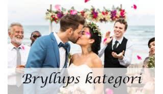Bryllups kategorien