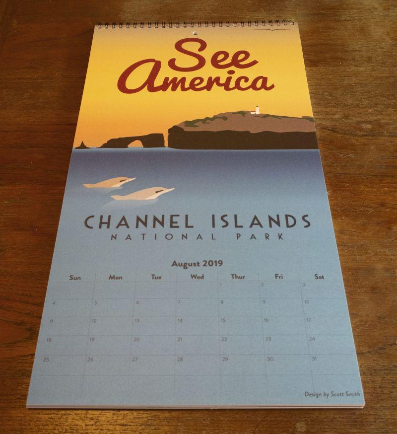 See America 2019 Calendar