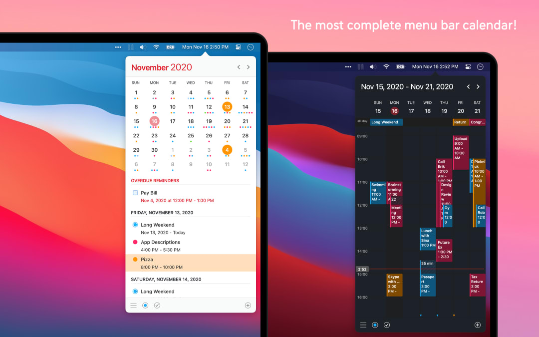 Calendar 366 II Screenshot