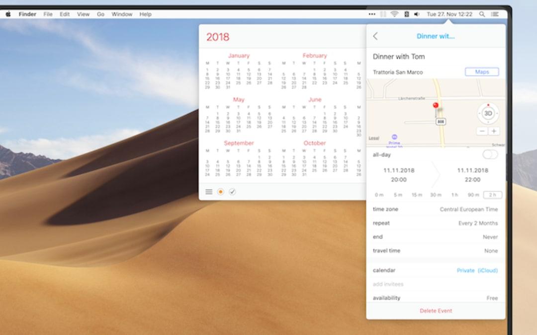 Calendar 366 II Screenshot