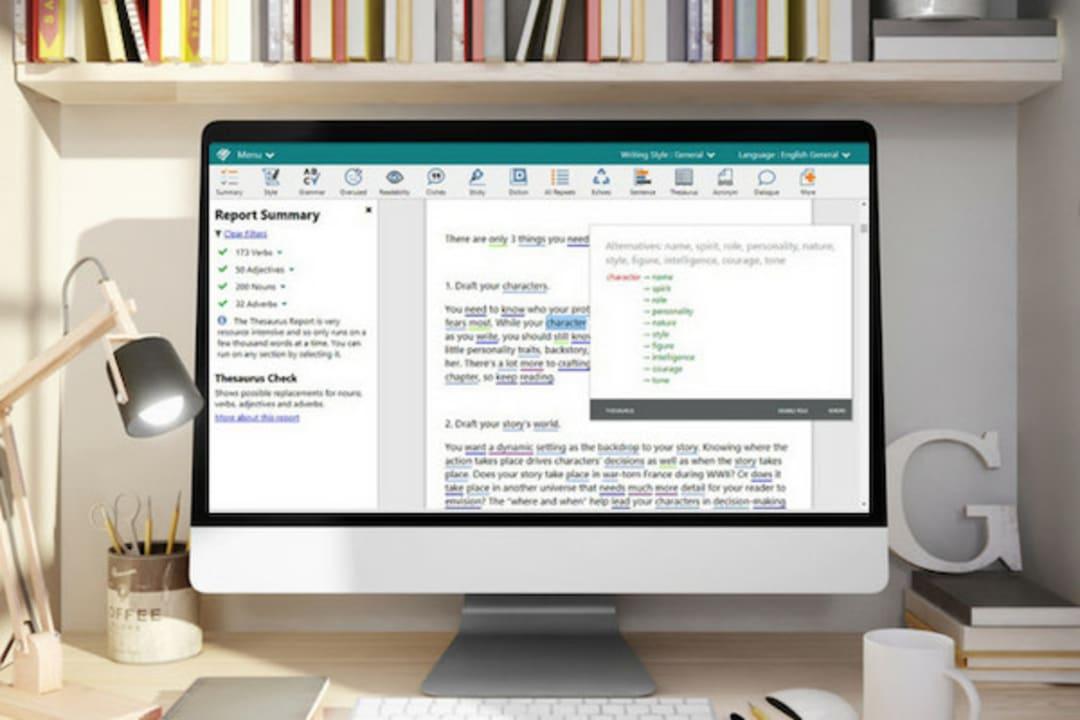 ProWritingAid Screenshot