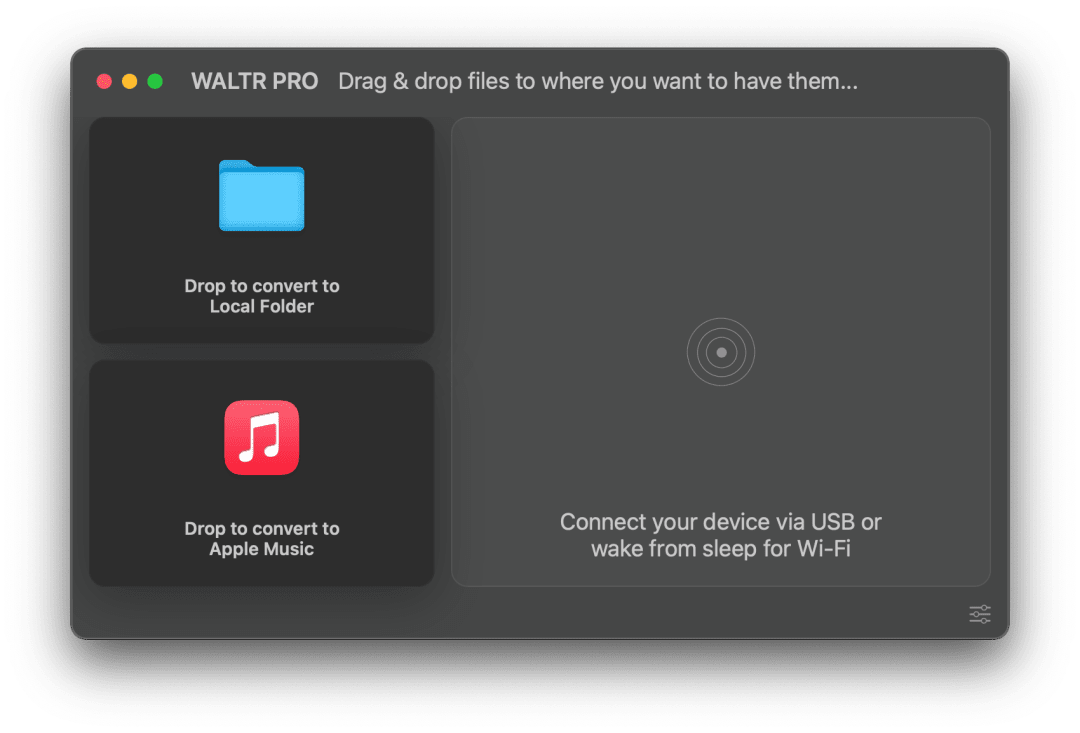 WALTR PRO Screenshot