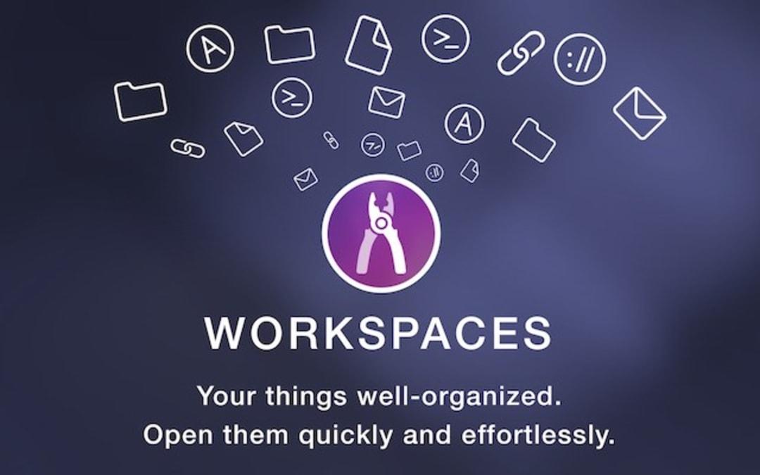 Workspaces Screenshot