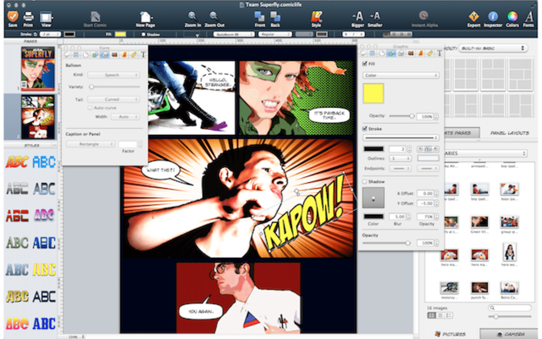 Comic Life 3 Screenshot