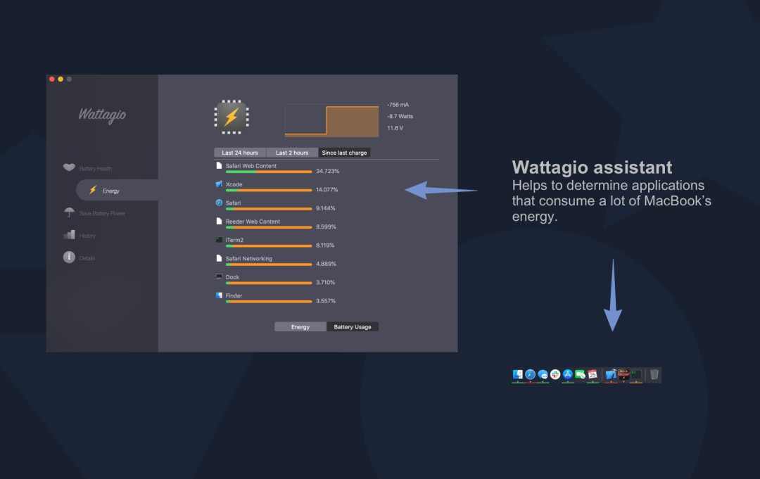 Wattagio Screenshot