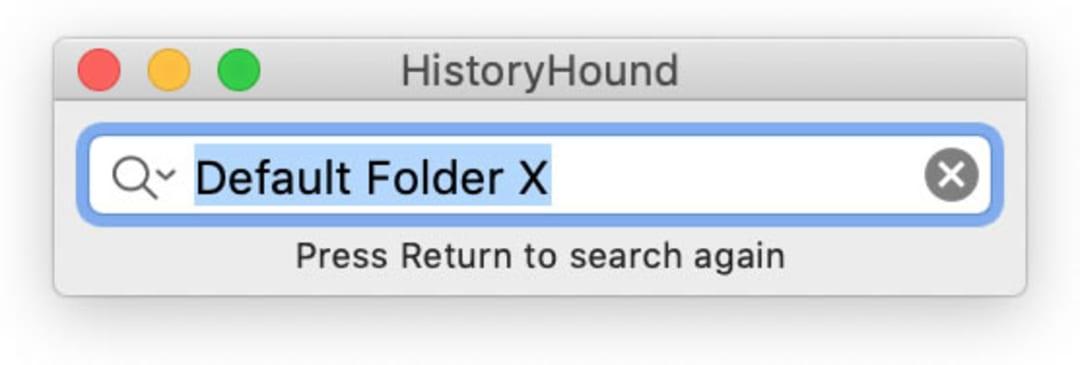 HistoryHound Screenshot