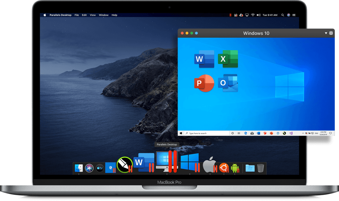 Parallels Desktop 16 Screenshot