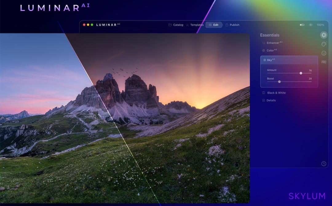 LuminarAI Screenshot
