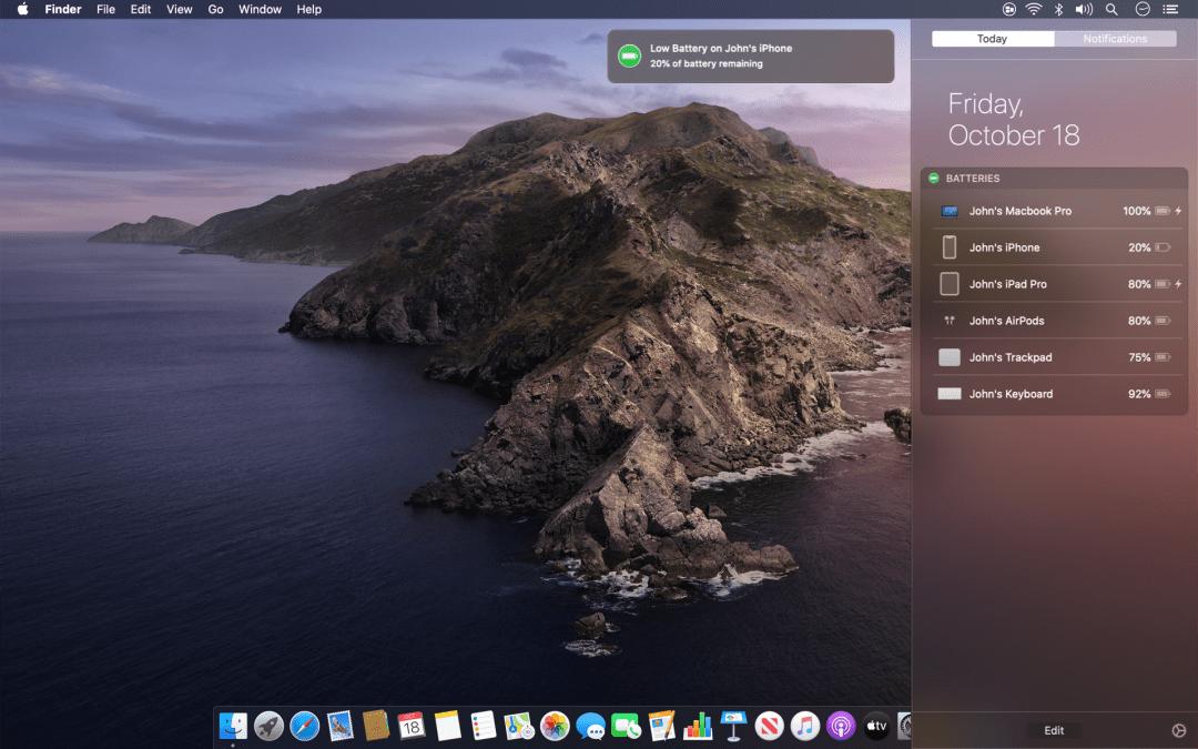 Batteries for Mac Screenshot