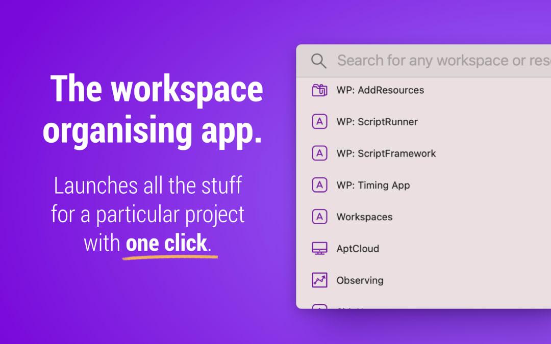Workspaces 2 Screenshot