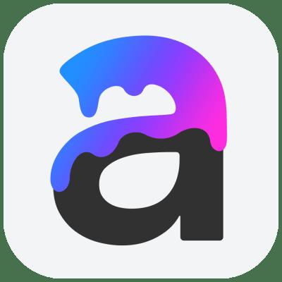 Art Text 4 Icon
