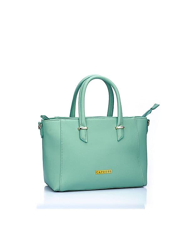 caprese porsche women's tote bag (mint)