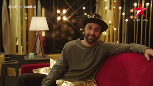 artiste in green featuring ranbir kapoor cricket final live party toh banti hai  ranbir kapoor, star plus, 2018