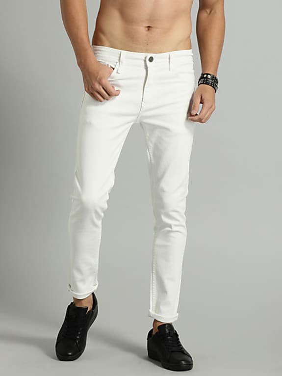 men white stretchable jeans