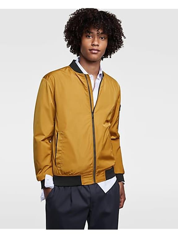 go for  lightweight bomber jacket