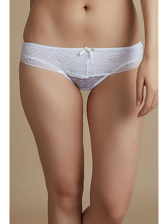 zivame luxe lace low rise bikini panty