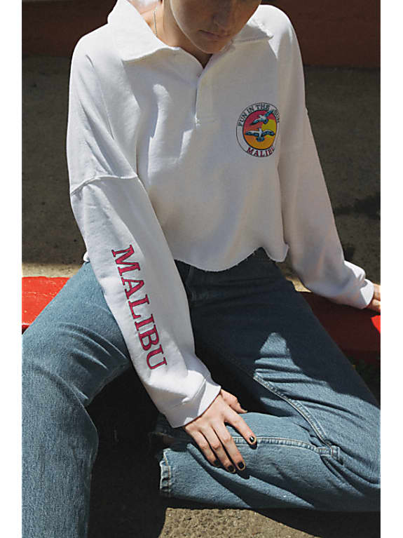 jones fun in the sun malibu sweatshirt