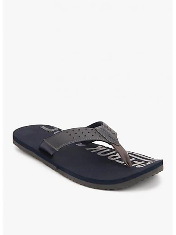 reebok style flip grey flip flops