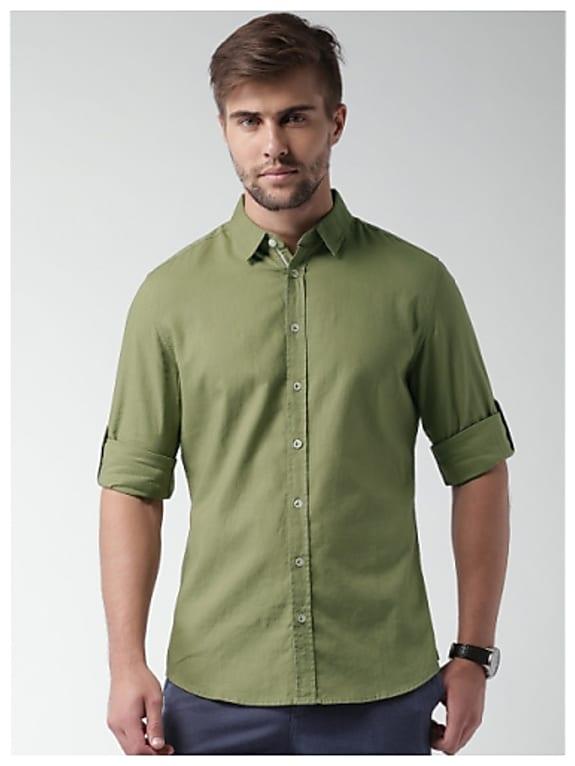 sela linen casual shirt