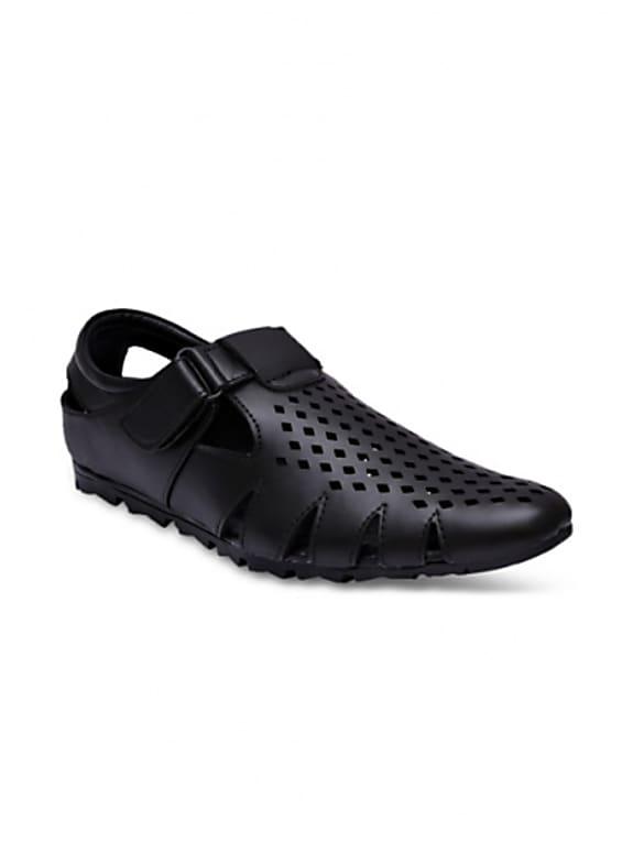 sir corbett men black sandals