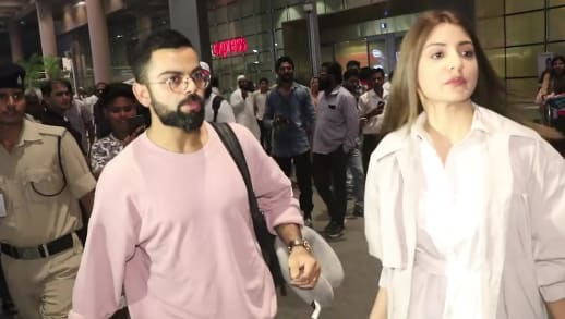 Lead Artiste Featuring Virat Kohli Spotted Anushka Sharma