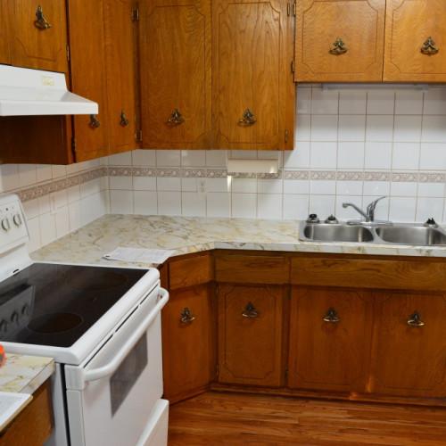 upper-floor kitchen