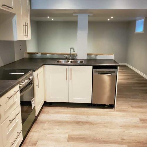 Kitchen overlooking Living Area