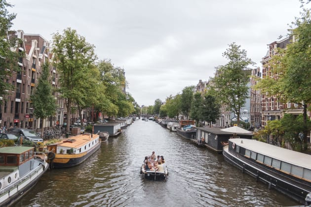 Visiter Amsterdam en bateau