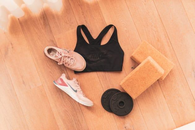 Faire du sport à la maison  — Ma routine sportive