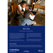 ChildHope Story Poster 3