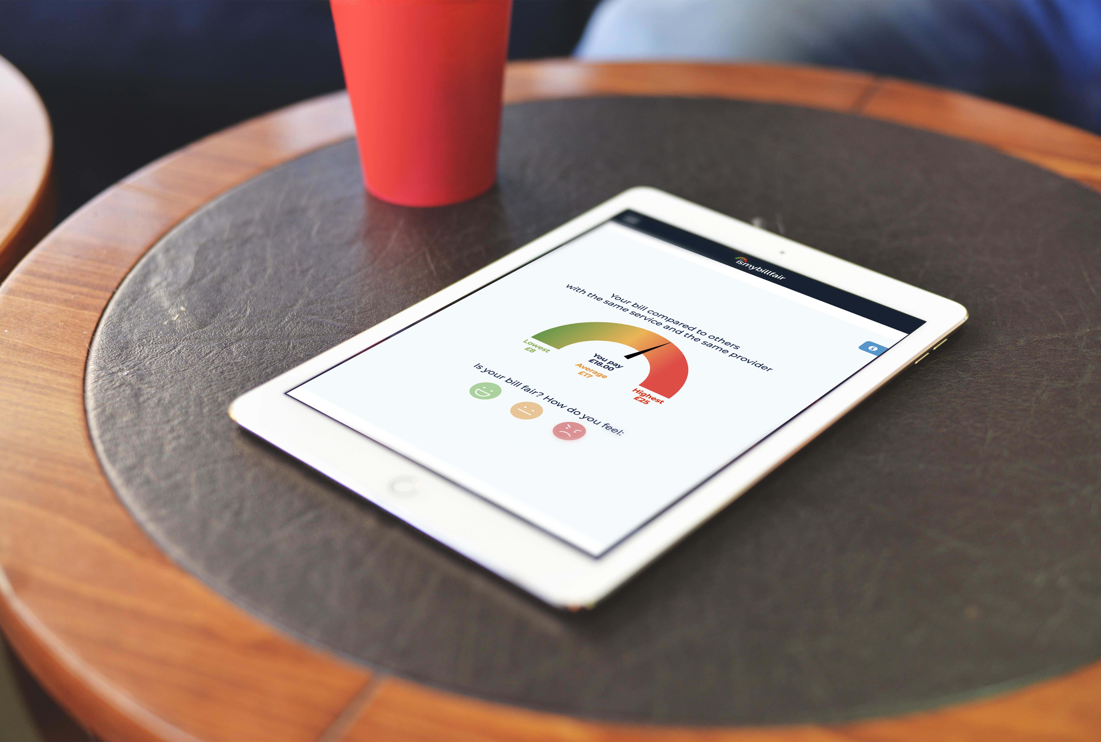ismybillfair   branding concept strategy   web design and development