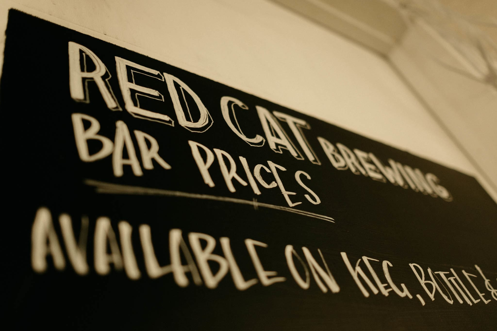 Red Cat Brewing Photography - Studio Republic