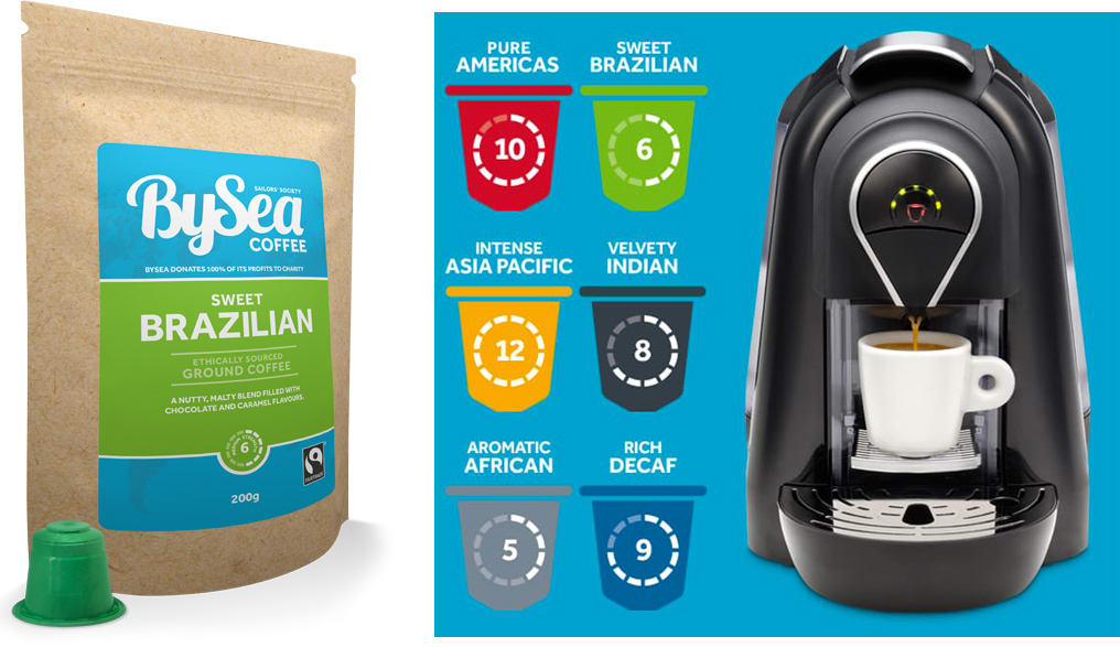 BySea Coffee's new subscription site is launched
