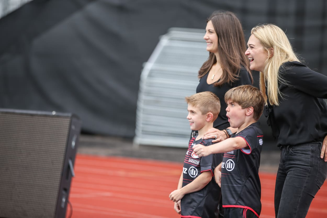 Duchenne UK Co-founders Emily and Alex with sons
